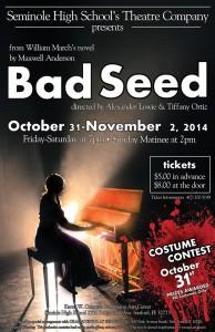 Bad Seed - Seminole Highschool Theatre Company
