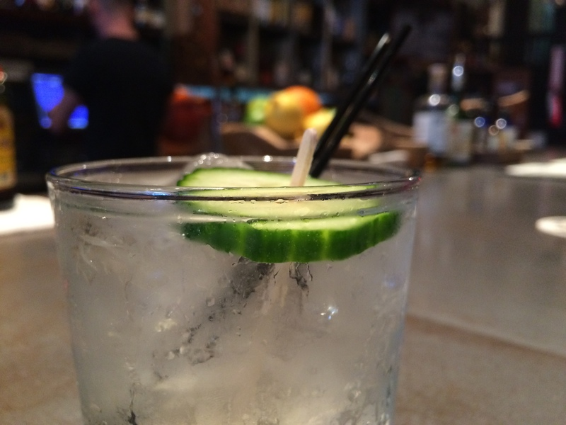 Gin Flower Craft Cocktail at the Imperial at Washburn Imports Sanford FL
