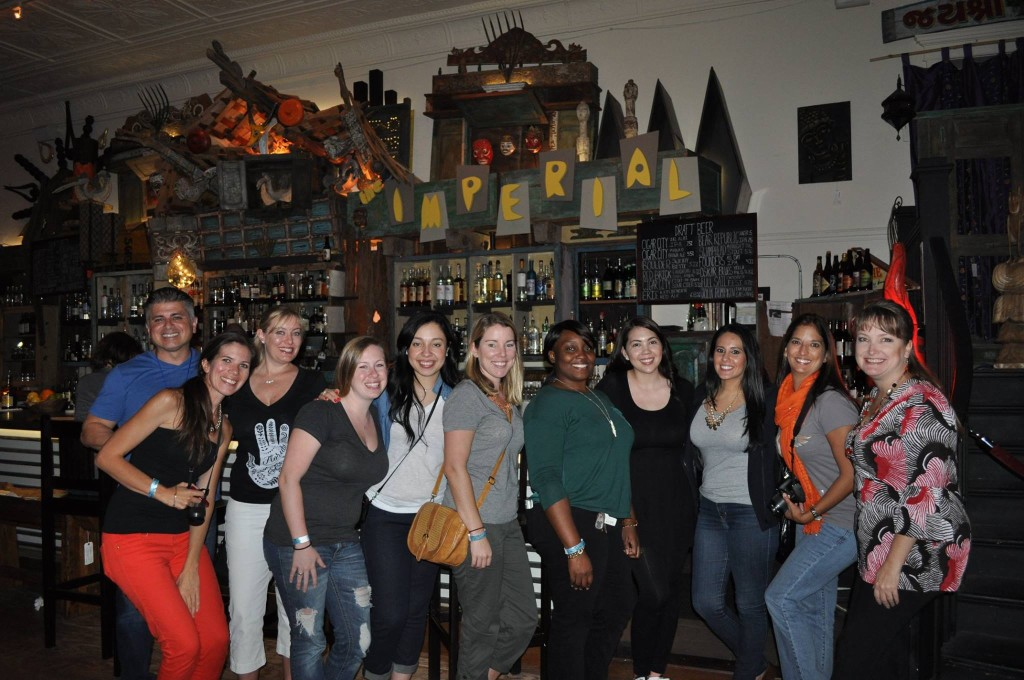 Central Florida Lady Bloggers at The Imperial at Washburn Imports