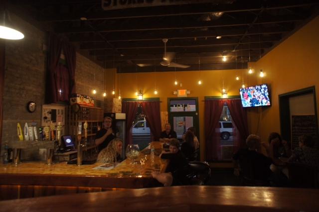 Wops Hops Sanford FL Brewery Tab Room