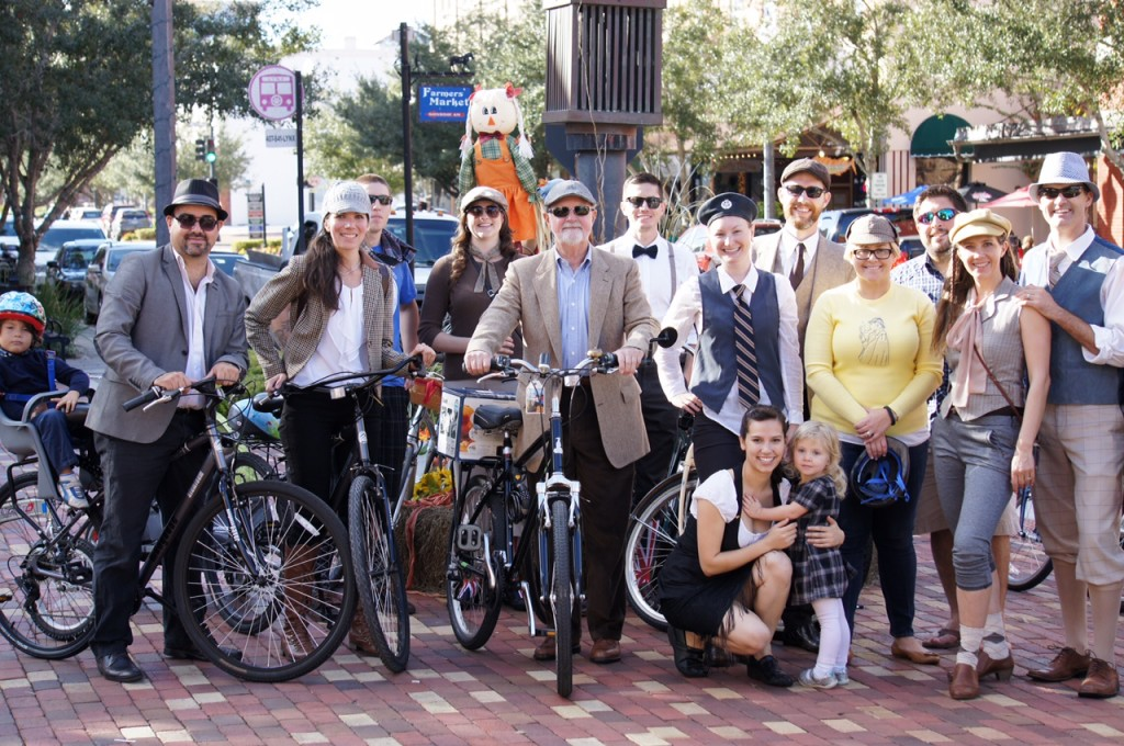Sanford FL Tweed Ride Group Photo