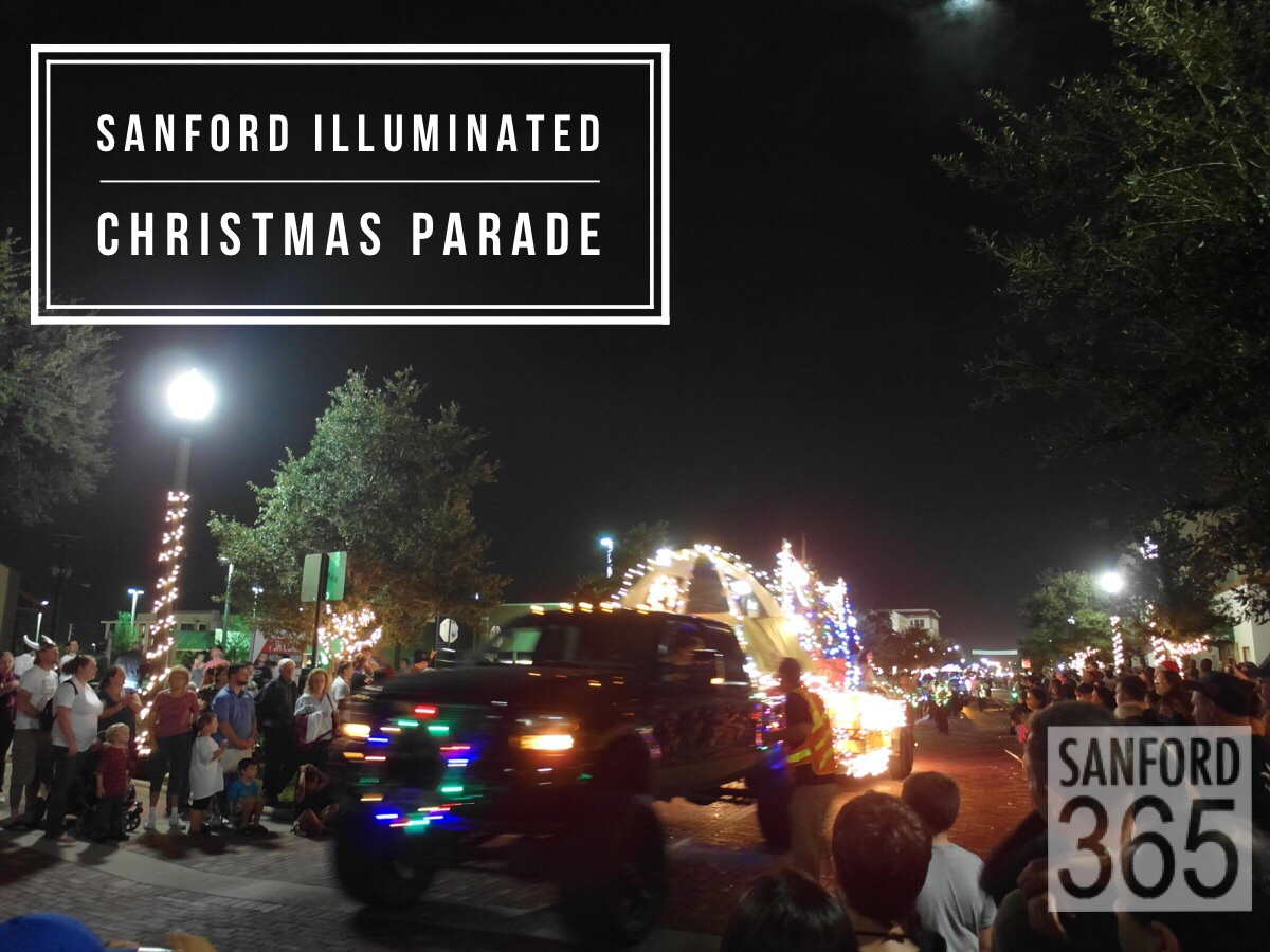 Sanford Christmas Parade 2020 illuminated parade   Sanford 365