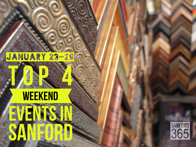 Top 4 Weekend Events for January 23 – 25