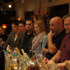 Pictures of the First Old Forester Cocktail Class at the Imperial