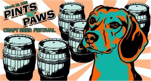 Pints n' Paws 4th annual Banner