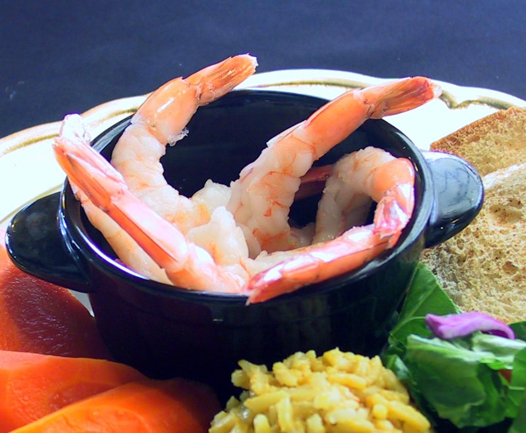 Corner Cafe Shrimp Scampi