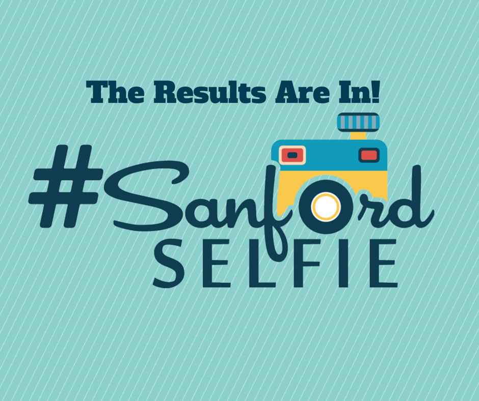 May's Sanford Selfie Winner!