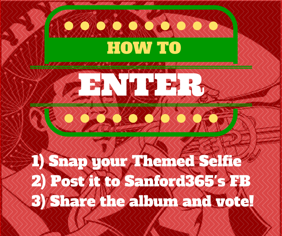 Sanford Selfie May Themed Selfie Challenge
