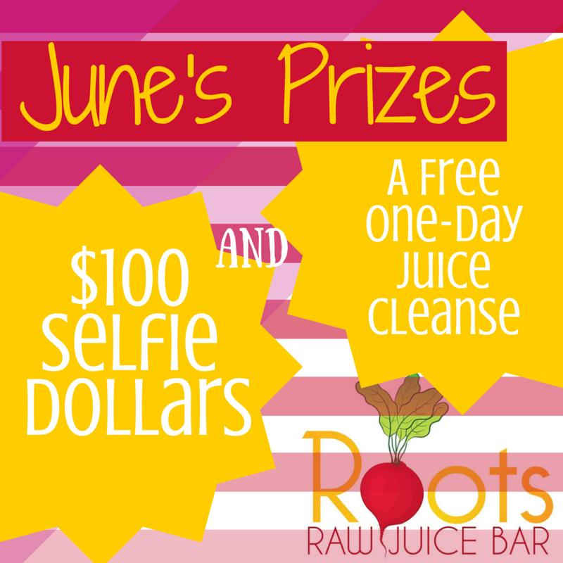 June's Sanford Selfie Prizes