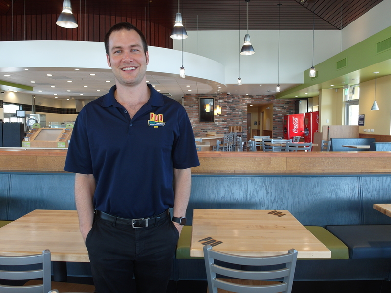 PDQ Sanford Manager Adam Harrison