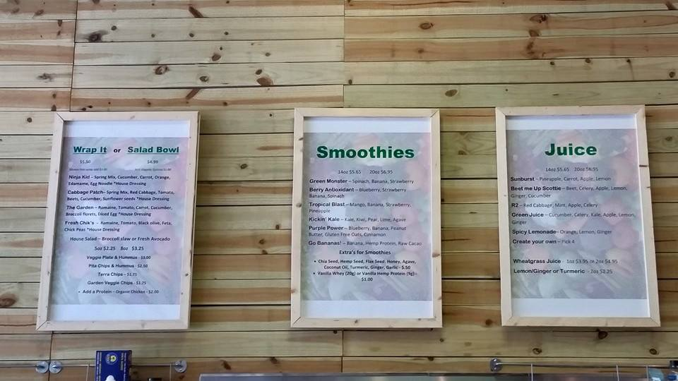 Roots Raw Juice in Downtown Sanford things to do in sanford