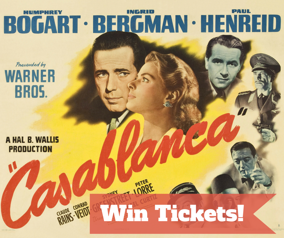 Win Tickets casablanca
