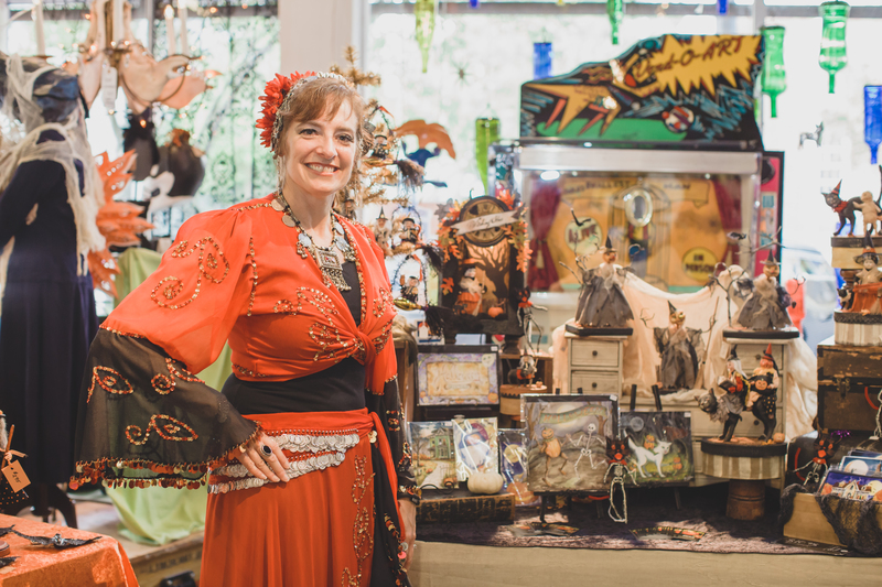Spirits in Sanford Halloween Art Show