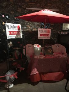 Sponsorship Booth at the Lover Your Shorts Summer Rewind