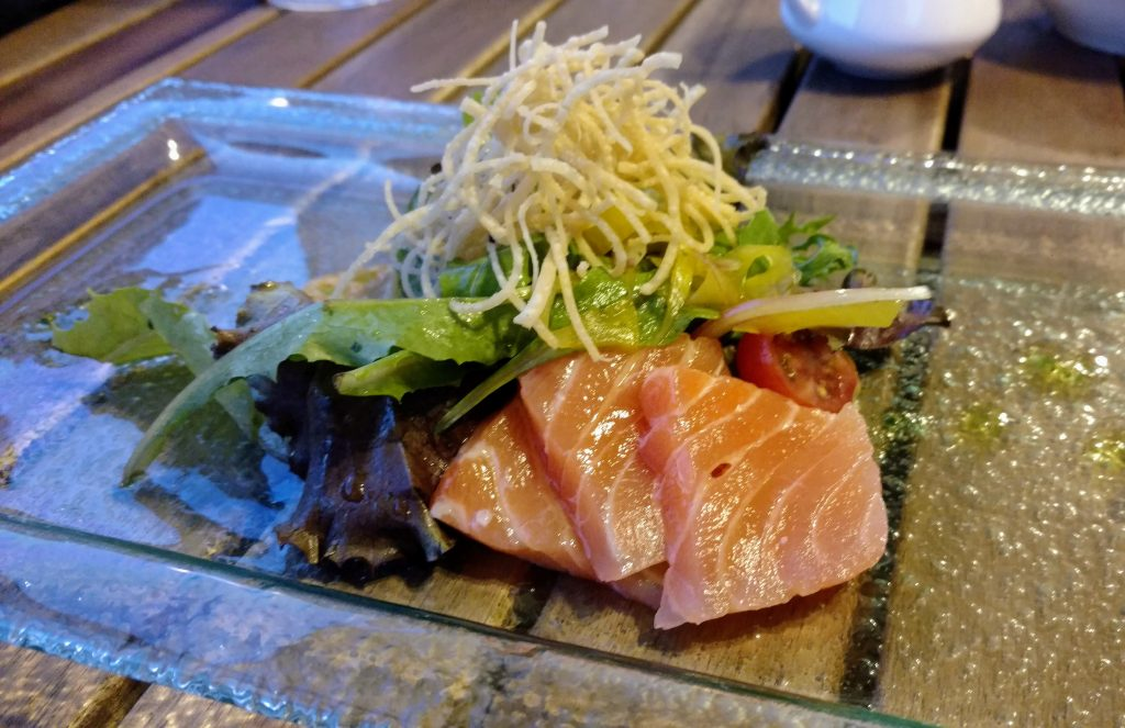 Salmon Omakase at Jimotti's in Sanford