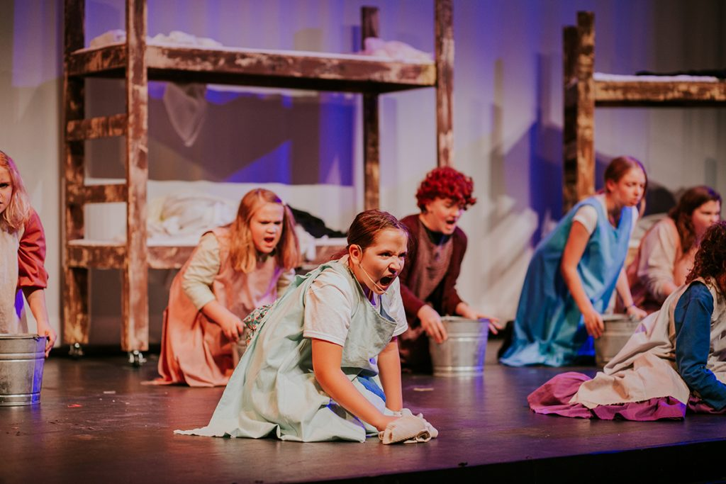 Images of Annie at Wayne Densch Performing Arts Center Sanford FL