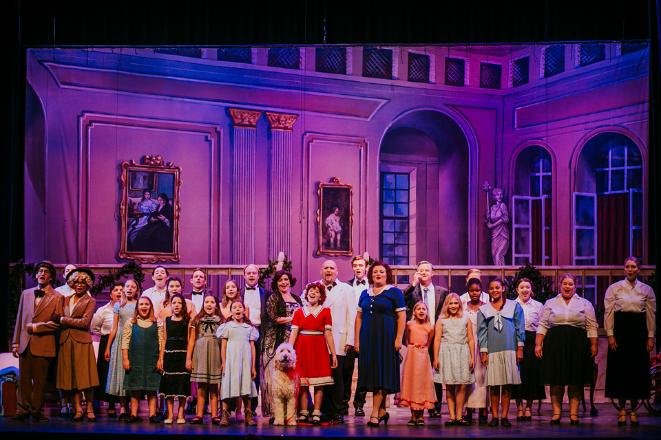 Annie at the Wayne Densch Performing Arts Center