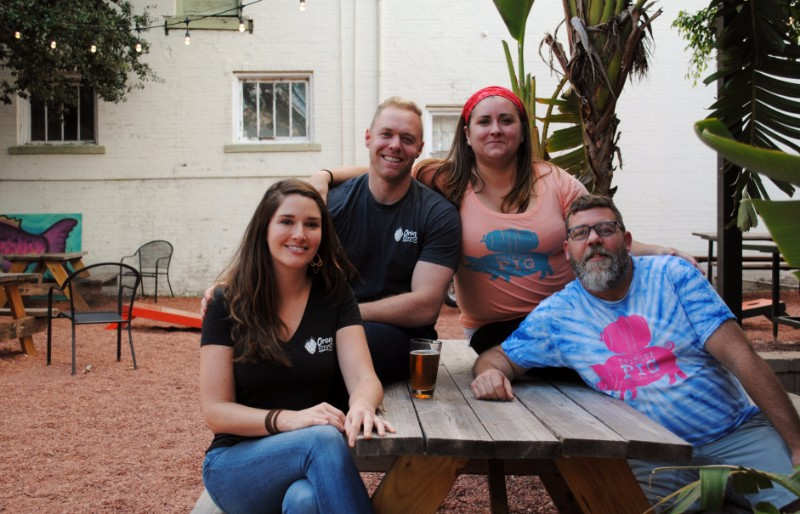 Heather and Abe Furth of Orono Brewing joined Allison Stevens and Dave Nowers of the Thirsty Pig in Portland, Maine for the inaugural Sanford-Portland Beer Summit