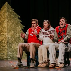 Christmas Play, Sleigh presented by Gromalot Theatre at Sanford's WDPAC