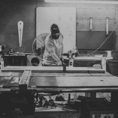 GET TO KNOW MIKE, PARK & SEVENTH WOODWORKING OWNER