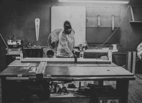 GET TO KNOW MIKE, PARK & SEVENTH WOODWORKINGOWNER