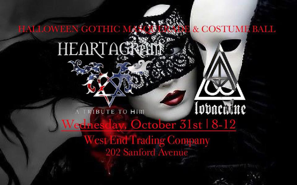 halloween gothic masquerade costume ball