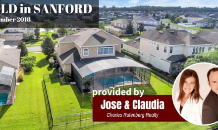 Quick and Easy Sanford Real Estate Report for September 2018
