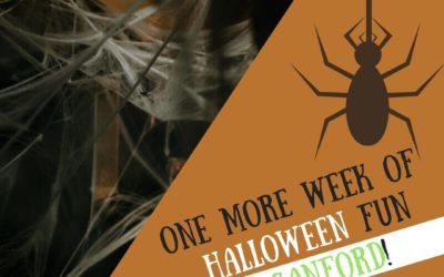 One more week of Halloween Fun in Sanford!