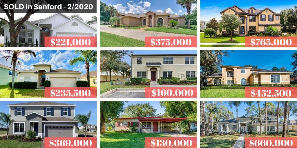 Sanford FL Real Estate Report February 2020