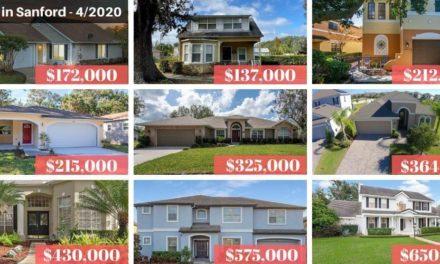 Sanford FL Real Estate Report April 2020