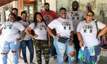 Sanford Cash mob supports local businesses