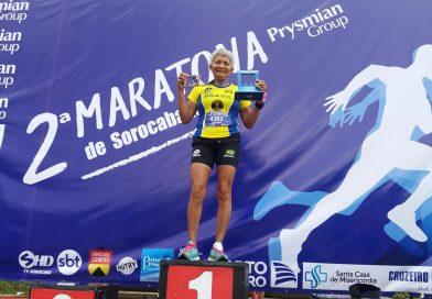 Maria Silva, foi amor a primeira corrida