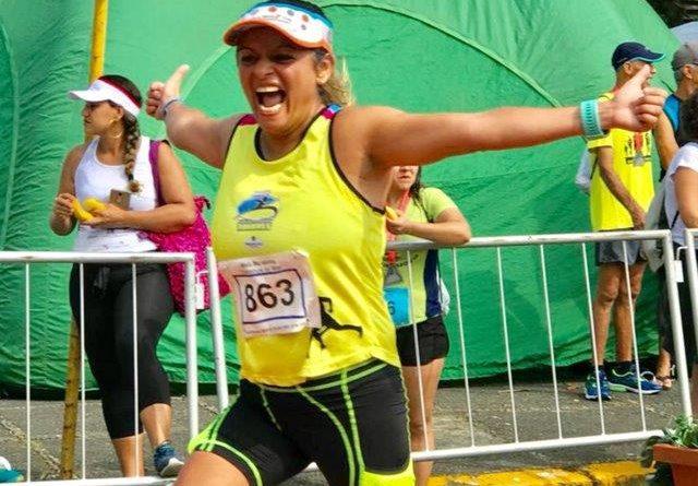 Andrea Silva, a mulher, baiana e corredora, sim senhor