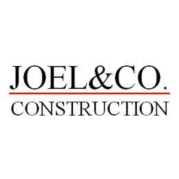 Website for Joel & Co. Construction