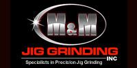Website for M & M Jig Grinding, Inc.