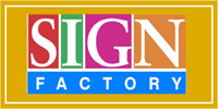 Website for The Sign Factory