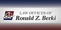 Website for Law Office of Ronald Z. Berki