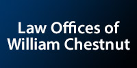 Website for William A. Chestnut, Law