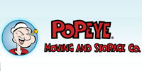 Website for Popeye Moving & Storage Company