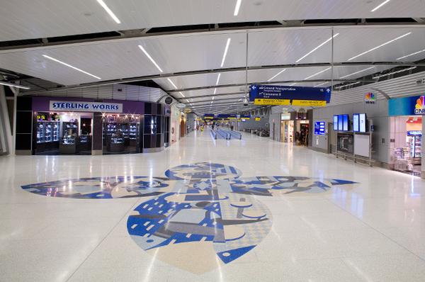 Indianapolis International Airport Santarossa Mosaic And