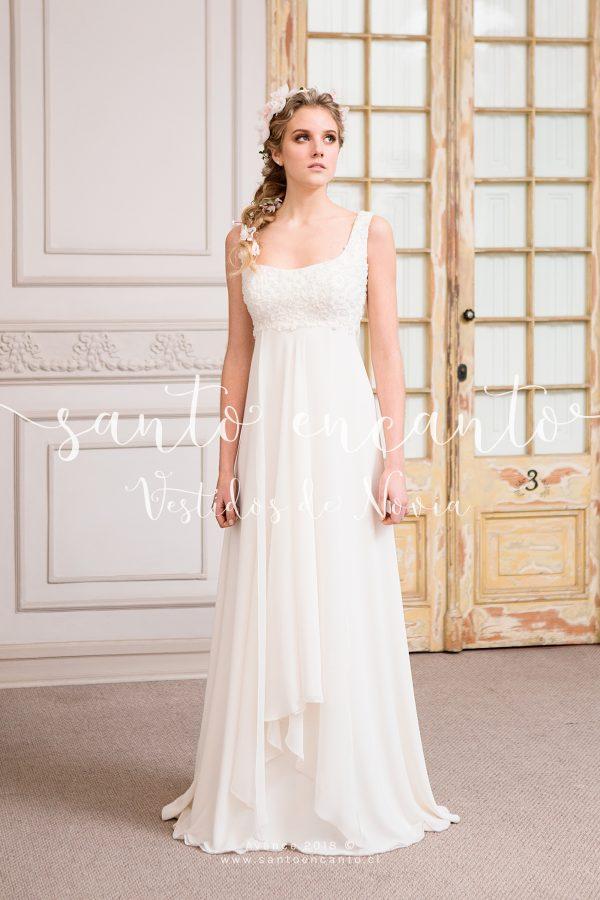 vestido de novia bordado a mano