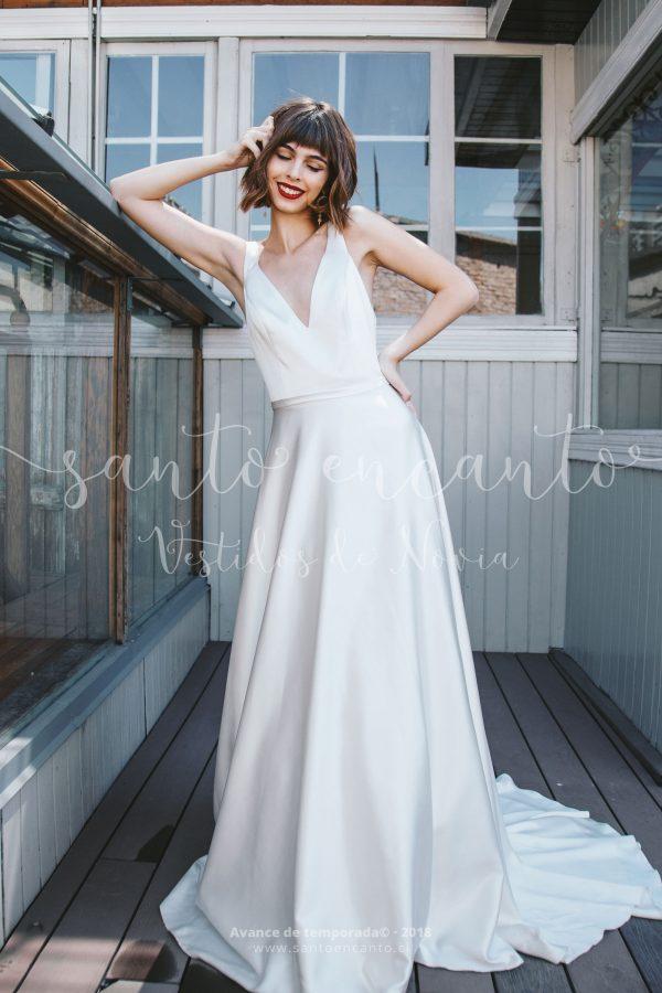 Vestido de novia de clásico