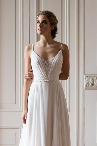 Vestido de novia ligero