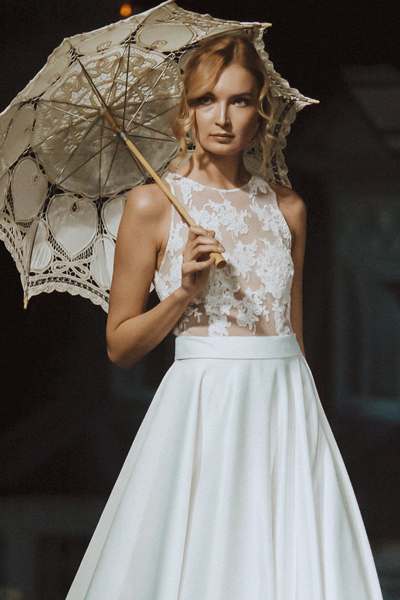Vestido de novia atemporal