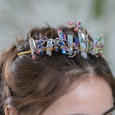 tiara para novias