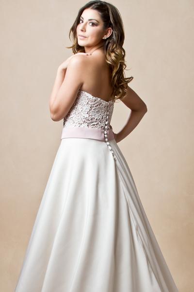Vestido de novia en stock