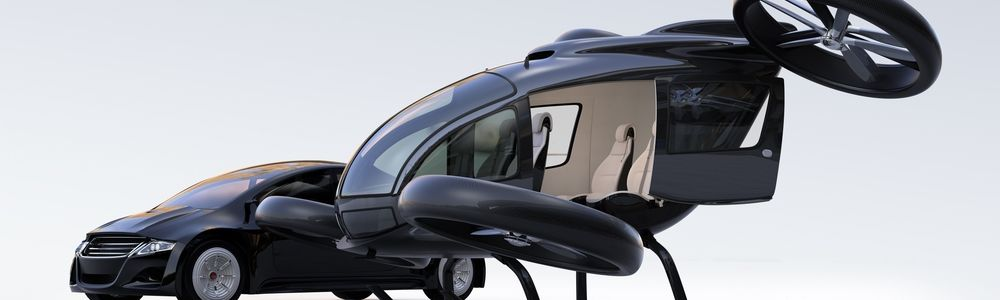 Flying Cars & Supercomputer on Whees - Consumer Electronics Show Las Vegas 2019