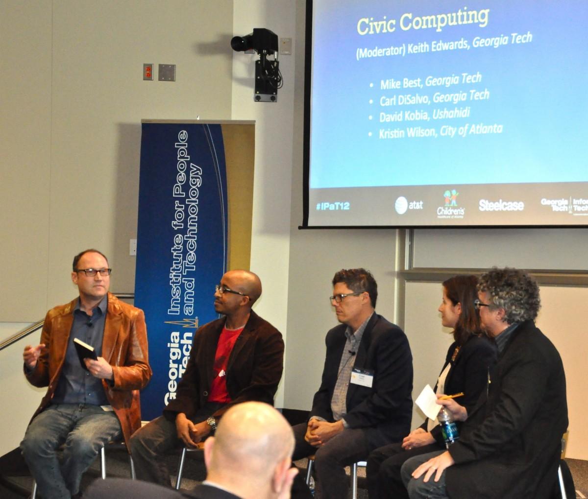 Civic Computing panel