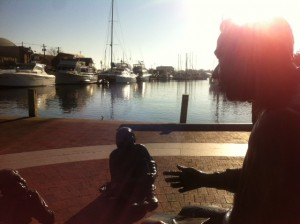 Photo of Annapolis City Port and the Kunte Kinte-Alex Haley Memorial