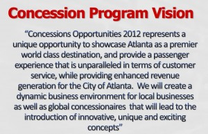 Concession Program Vision, January 2011